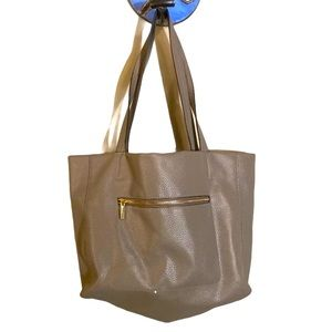 Faux leather shoulder handbag by and e way Rn17730